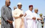 Les chefs d'Etat du G5 Sahel rendent hommage au Niger. © PR/Niger
