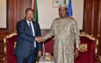 Tchad : le premier ministre soudanais a rencontré Idriss Déby. © PR