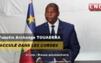 Centrafrique : Discours de Touadera pour le nouvel an, « Le douloureux réveil de l'illusionniste »