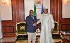 Le nouveau président de Guinée Bissau rencontre Idriss Déby à N'Djamena