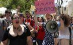 """Première """"marche des salopes"""" à Jérusalem ( Le Monde à l'envers)"""