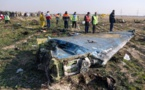 "L'Iran dit avoir ""involontairement"" abattu l'avion ukrainien, 176 morts"
