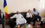Tchad : la princesse jordanienne Sarah Zeid en visite à Pala