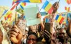 "Tchad : ""nous allons continuer à avancer, nous n'allons pas reculer"", Succès Masra. © Alwihda Info"