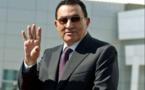Hosni Moubarak, en février 2005. MUHAMMED MUHEISEN/ASSOCIATED PRESS