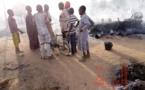 Tchad : une maison ravagée par les flammes à Goz Beida
