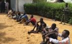 Tchad : la police arrête 10 individus pour des délits et un crime. © Djimet Wiche/Alwihda Info