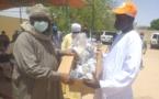 Tchad : 1000 cache-nez offerts par l'UNDR à Abéché