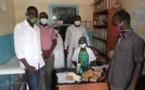 Tchad : Le bureau de l'UNET vient en aide au centre de la léproserie d'Habena