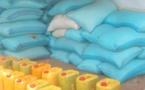 Tchad : à Mongo, des dons de vivres offerts à l'armée