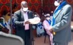 Tchad - Covid-19 : à Mongo, une mission du MPS remet 11.000 cache-nez à la population