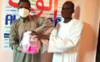 Tchad - Covid-19 : L'UJT renforce la rédaction d'Alwihda Info en kits d'hygiène