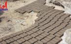 Tchad : fabrication de briques, une activité de survie pour les jeunes