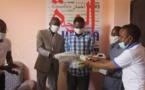 Tchad - Covid-19 : l'Union Générale des Jeunes Tchadiens offre un don à Alwihda Info