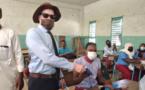 Tchad - Covid-19 : l'association d'appui aux albinos apporte son appui aux établissements