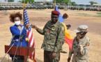 Tchad : 55 véhicules militaires remis à l'armée par les États Unis. ©DR/Amb.USA