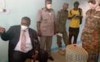 Tchad : le gouverneur de la Tandjilé inspecte les services publics de Laï. © Éric Guedi/Alwihda Info