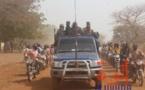 Un véhicule militaire à Pala, en tête d'escorte d'une délégation gouvernementale, en février 2020. Illustration © Malick Mahamat/Alwihda Info