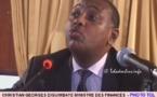 Paris : Christian Georges participe à la réunion des ministres des Finances de la zone franc