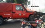 Tchad: Un véhicule de pompier s'est retrouvé entre les pneus d'un camion