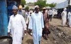 Tchad : le député Saleh Kebzabo s'est rendu au marché de Champ de fils