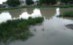Tchad : la capitale inondée par les eaux de pluie. © DR