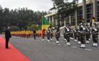 Fête des 60 ans de l'indépendance du Congo : une sobre cérémonie de prise d'armes organisée à Brazzaville