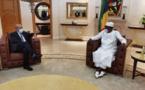 Le président du Tchad s'est entretenu avec le ministre français des Affaires étrangères