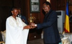 Tchad : Déby reçoit l'artiste Mounira Mitchala