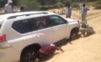 Tchad : Le véhicule d'un ministre s'enfonce dans le sable