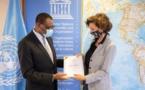 UNESCO : L'ambassadeur du Cameroun en France présente ses lettres d'introduction