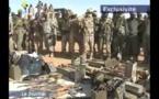 Mali : La télévision nationale présente les véhicules récupérés, les armes et munitions