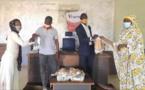 Tchad : le Groupe Sultani remet un lot de masques aux associations des jeunes