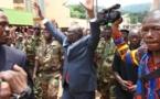 RCA : Le Président Djotodia réussi son premier meeting à Bangui