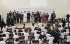 Université Denis Sassou-N'Guesso de Kintélé : la 1ère promotion des étudiants exhortée par les chefs d'État africains