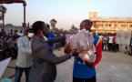 Tchad : l'antenne de l'ONAJES du Logone Occidental remet du matériel sportif aux jeunes
