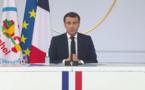 """Macron : """"Si le Sahel tombe aux mains du terrorisme, progressivement l'Afrique tombera"""""""