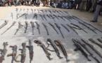 Tchad : saisie de 42 armes artisanales utilisées dans un conflit intercommunautaire