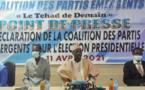 Présidentielle au Tchad : la Coalition des partis émergents se range derrière Deby