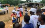 Congo-Présidentielle : dernière ligne droite de la campagne électorale du candidat Denis Sassou-N'Guesso à Tié Tié II