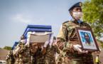 Mali : cérémonie d'hommage aux 4 soldats tchadiens tués à Aguelhok