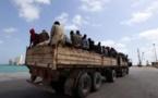 Libye : Un camion d'immigrés tchadiens en route vers la frontière
