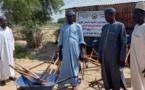 Tchad : les fossoyeurs du cimetière de Lamadji reçoivent un don de matériels
