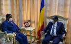 Tchad : le chef de la diplomatie a reçu le nouveau haut représentant de l'UA