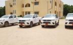 Tchad : des véhicules neufs pour les districts sanitaires du Ouaddaï