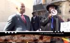 Paris : Des manifestants centrafricains devant l'ambassade du Tchad