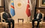 RDC-Turquie : le président Félix Tshisekedi reçu en tête à tête par Erdogan