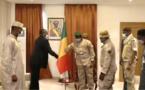 Coopération militaire : le colonel Assimi Goïta a reçu une délégation du Tchad
