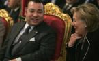 Entretien familial entre Madame Hillary Clinton et le Roi du Maroc