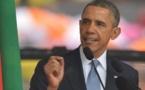"""""""Beaucoup sont solidaires de la lutte de Madiba mais ne tolèrent pas le changement"""" Obama"""